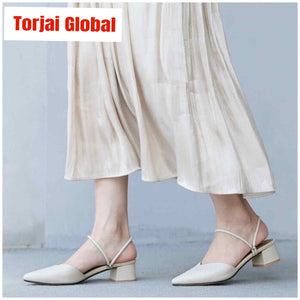 2020 Genuin Leather Women's Shoes - Torjai Global