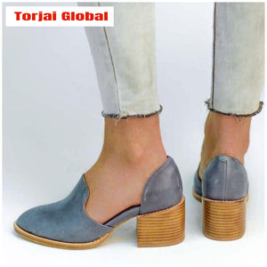 2020 New Fashion Summer Women's Leather Shoes