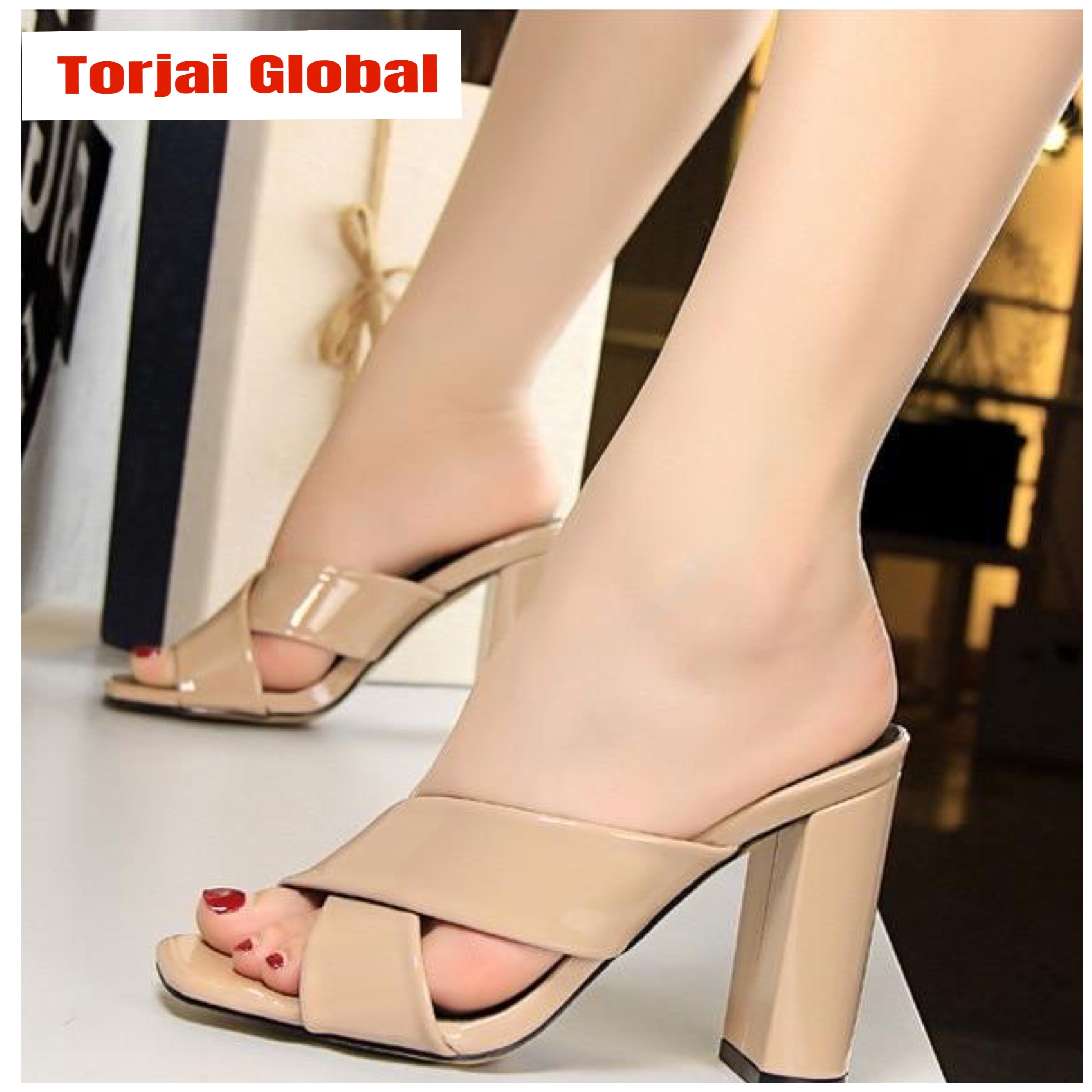 Women's Leather High Heels