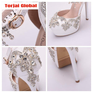 Bridal Crystal High Heel