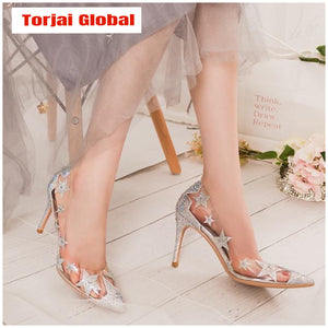 Transparent Crystal Heels