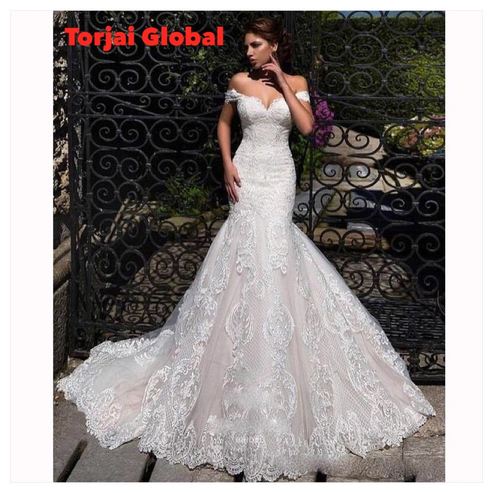 Wedding Dresses With Sweep Train