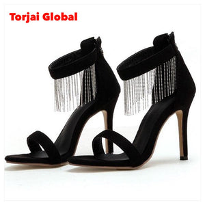 New Style Black Ladies High Heels