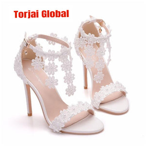 Women's White Bridal Shoes 2020
