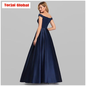Navy Blue  Evening Dresses 2020