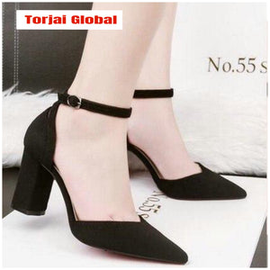 Ladies luxurious classic shoes