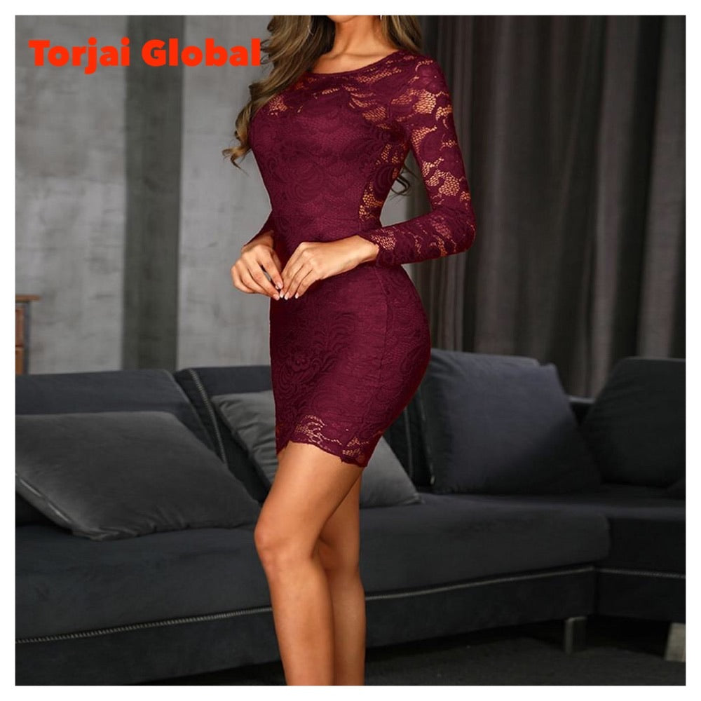 Women's Lace Party Dress