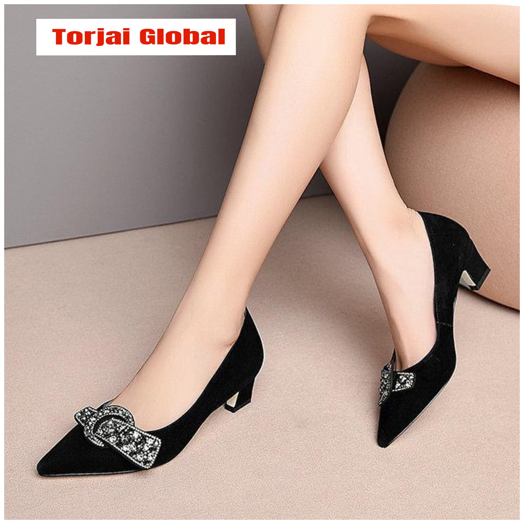 2020 Elegant Pointed Toe Ladies Shoes