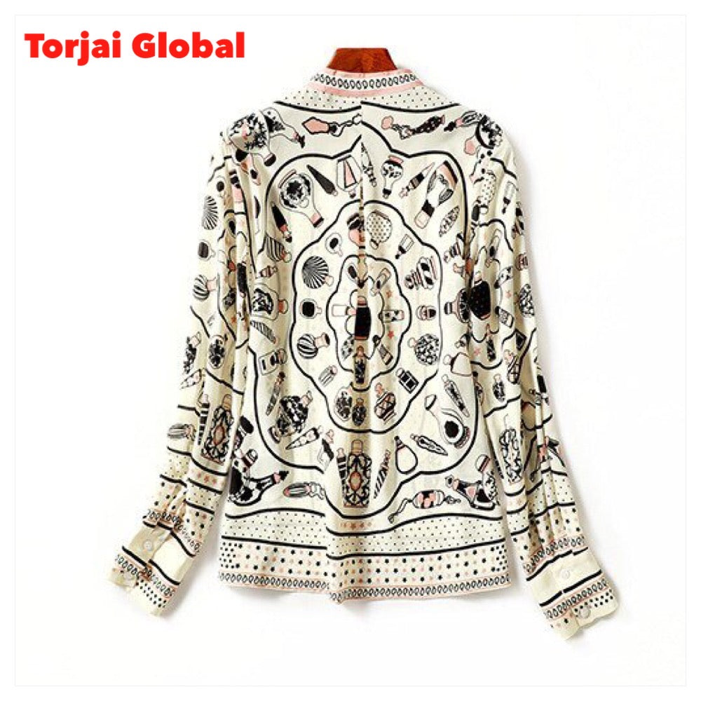 Top Quality Brand Silk Blouses