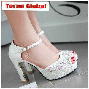 Women's Lace Wedding Shoes