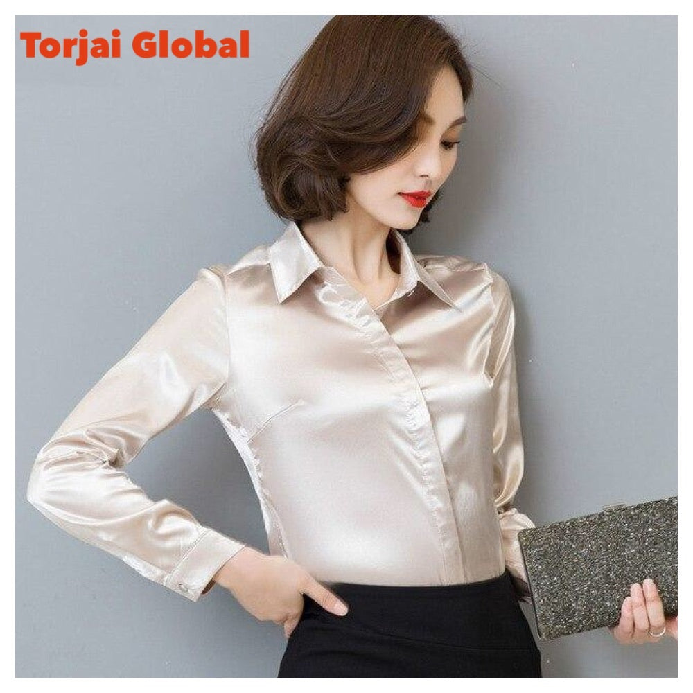 Long-Sleeve Women's Work Wear