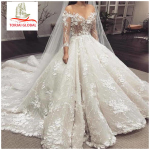 Gorgeous Off Shoulder Wedding Dresses 2020