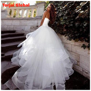 Simple Ball Gown Bridal Dress