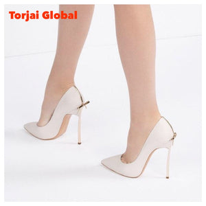 Designer Shoes With Bow Sexy Bridal High Heels