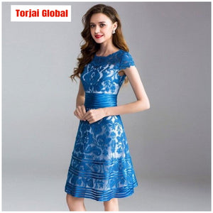 Elegant High Quality Women Dresses Summer 2020