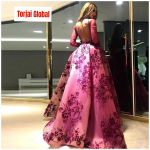 2020 Trendy Organza Flower Elegant Evening  Dress