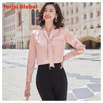 Ladies High Quality Silk Shirt