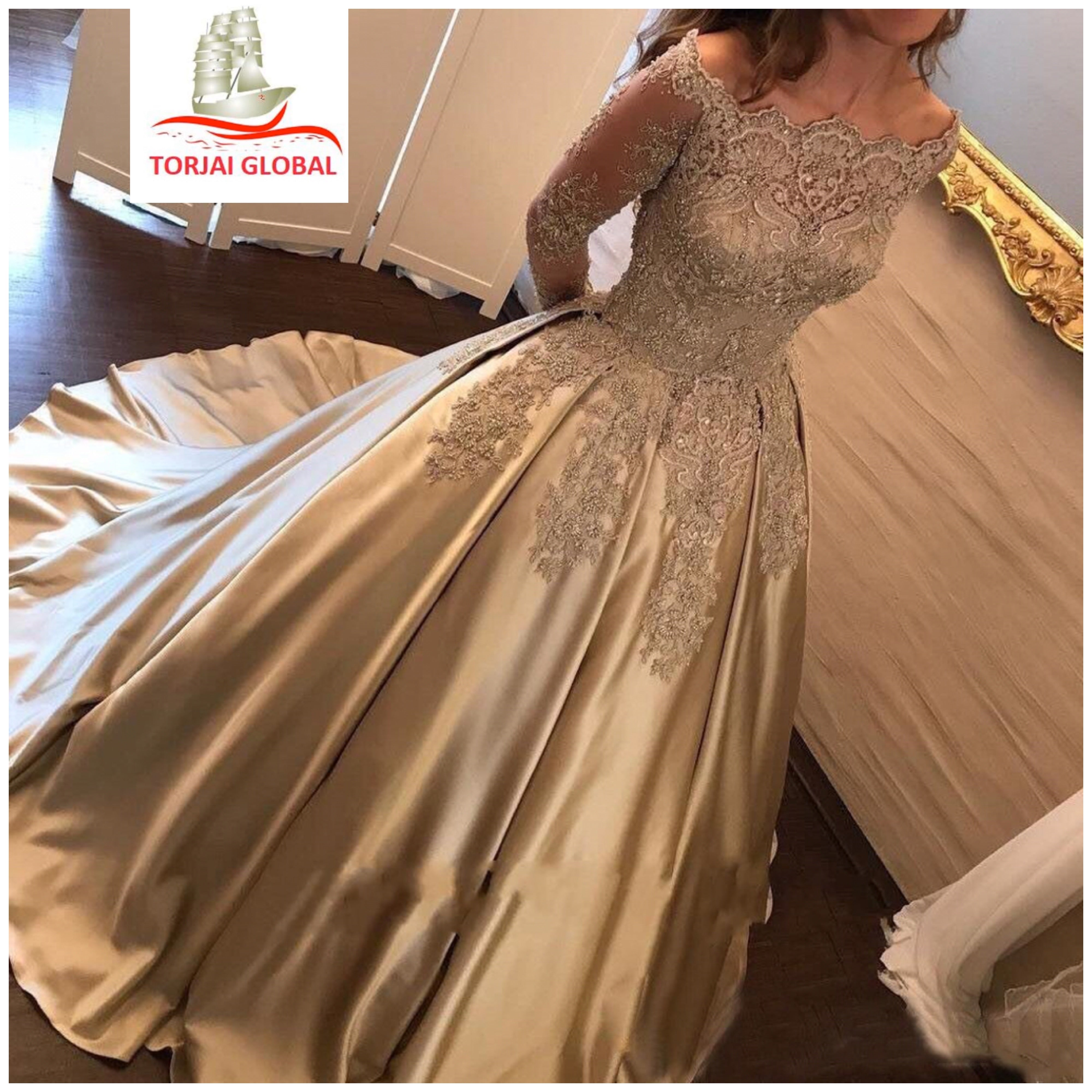 2020  Luxurius Wedding /Evening Dresses - Torjai Global