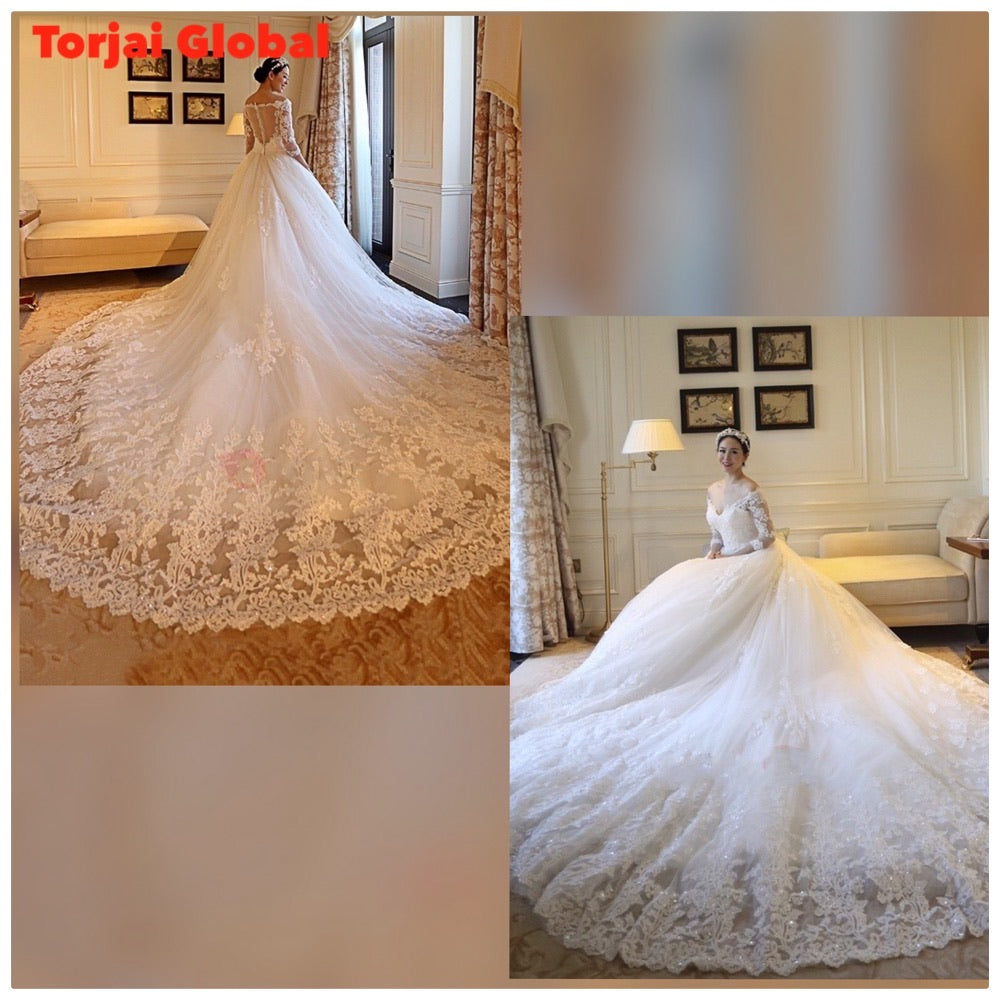 Long Sleeves Wedding Dress 2020