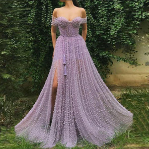 Party Dresses Off Shoulder Prom Dress 2020