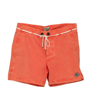 Short ORANGE toile Italienne