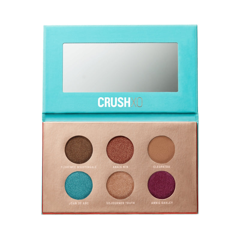 AFTERGLOW AND EYECON PALETTES + BRUSHES - CRUSHXO