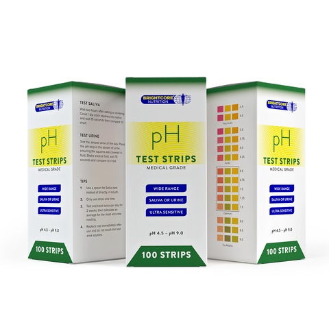 Diagnostic pH Test Strips