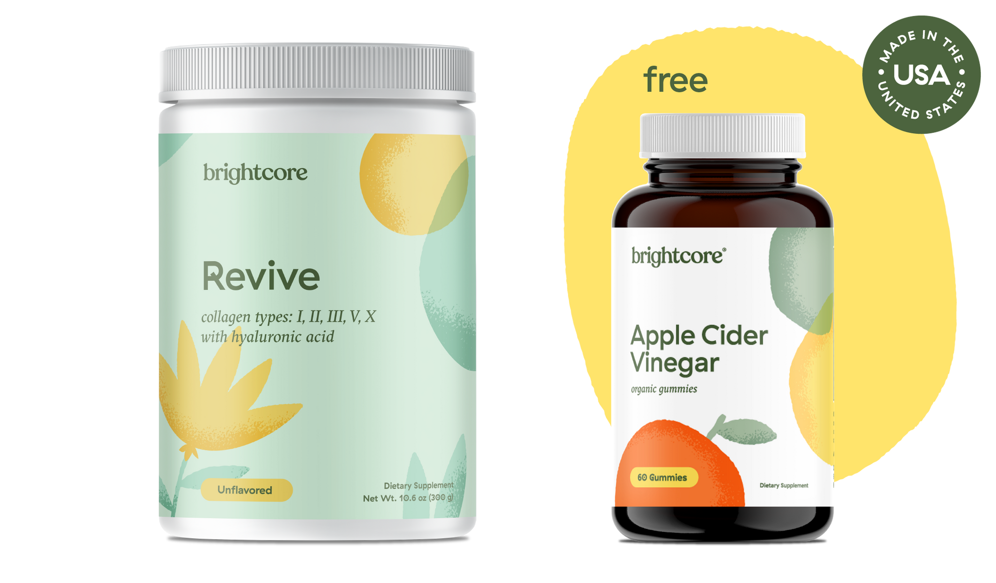 Revive® (Multi Collagen) and ACV Gummies Special