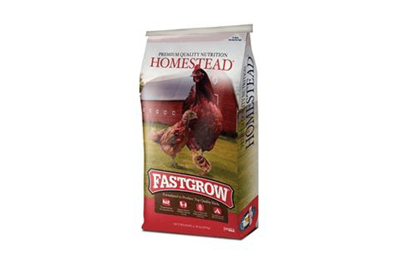 Homestead Fast Grow Chicken Feed for Growers (Crumbles)