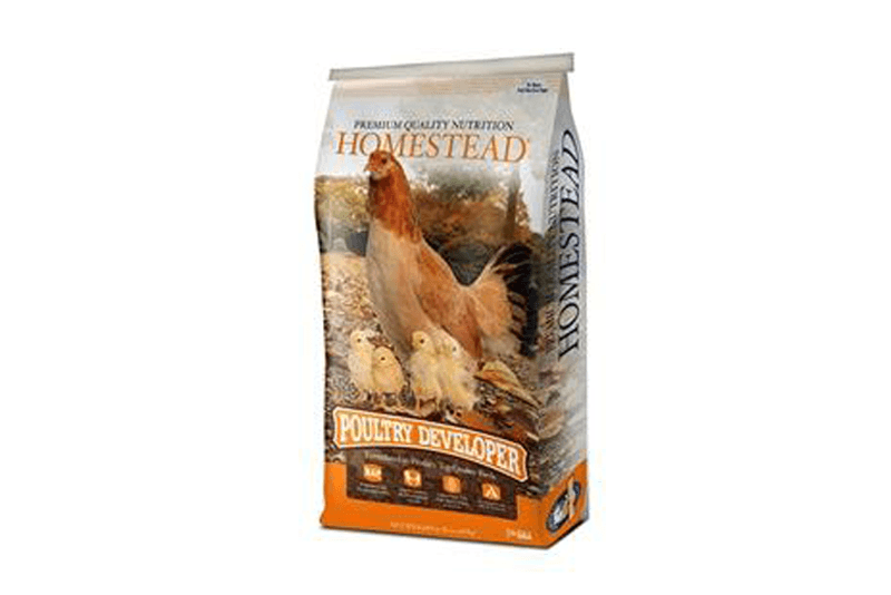 Homestead Poultry Developer for Chicks (Crumbles)