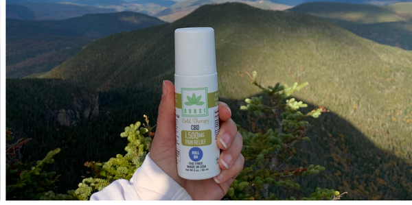 cbd roll on for hiking