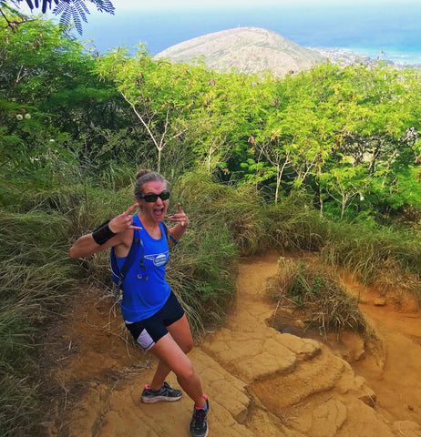 climbing koko head trail