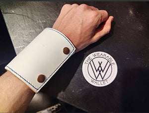 The Wearable Wallet | In White LIMITED EDITION