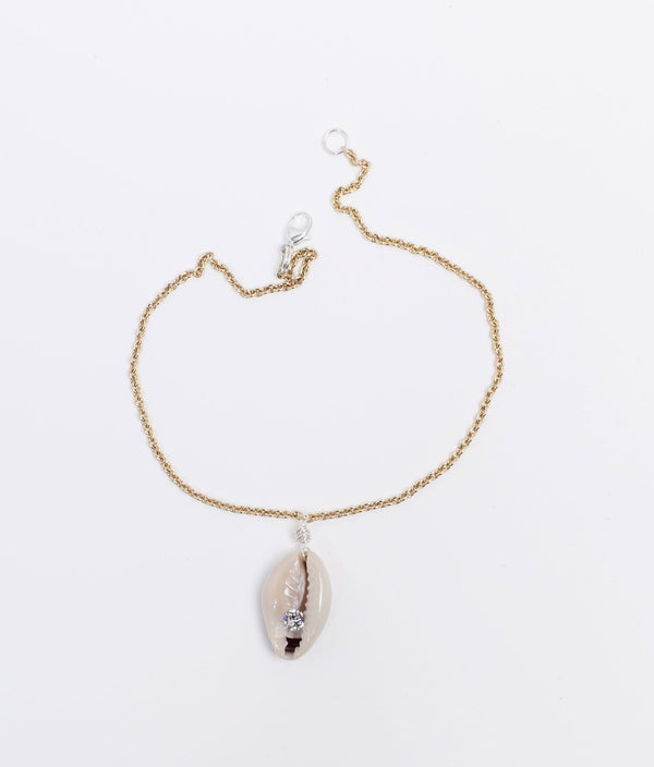 JUST A FRIEND SHELL ANKLET