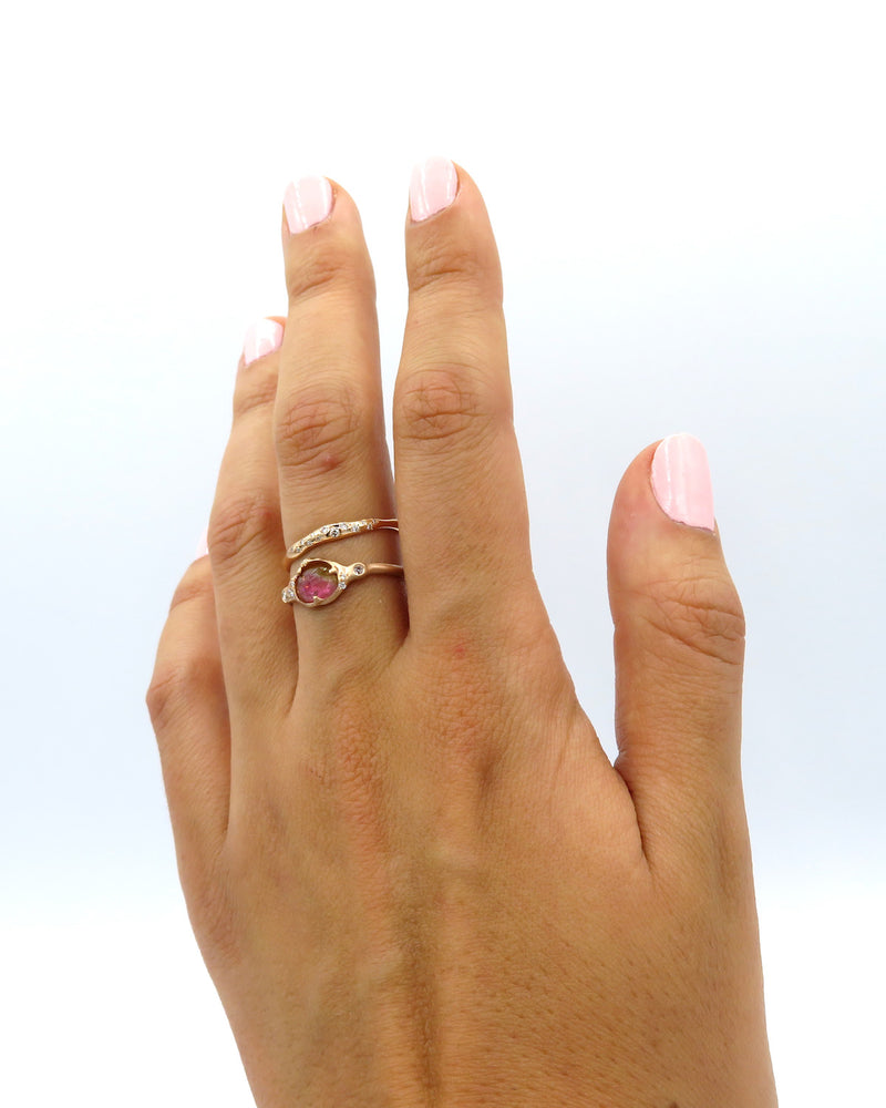 SUN BEAM BAND RING