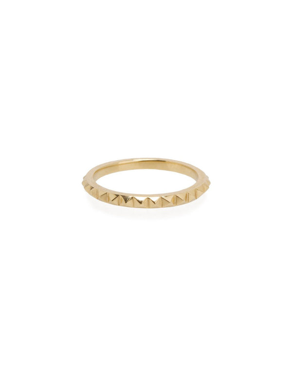 TINY SPIKES ETERNITY RING