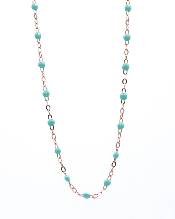 SEA GREEN MINI PEARL CHOKER