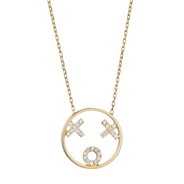 MOYEN XOXO NECKLACE