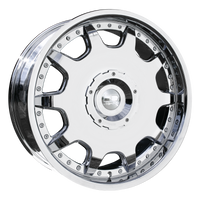 HD Wheels Ladeca Chrome Plated
