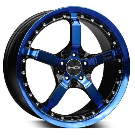 HD Wheels Cool Down Blue