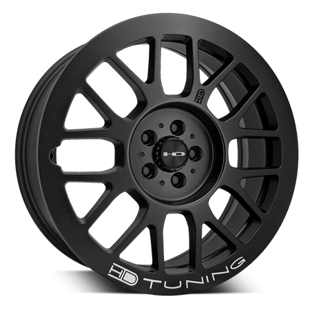 HD Wheels Gear All Satin Black Milled