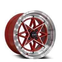 HD Wheels RS-L Gloss Red Machined