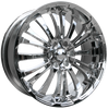 HD Wheels Spinout Chrome Plated
