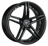 Fathom Designs Vapor All Satin Black