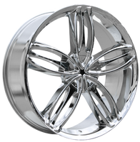 HD Wheels Starlet Chrome Plated