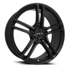 HD Wheels Vento All Satin Black