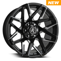 Remington Canyon Wheels Gloss Black Milled Face