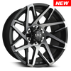 HD Off-Road Wheels Canyon Satin Black Machined Face