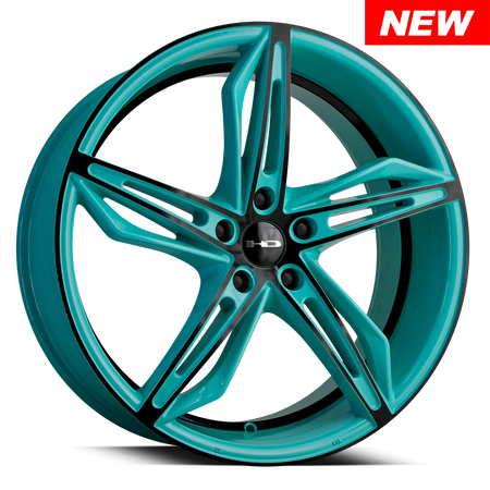Fly Cutter Teal with Black Face