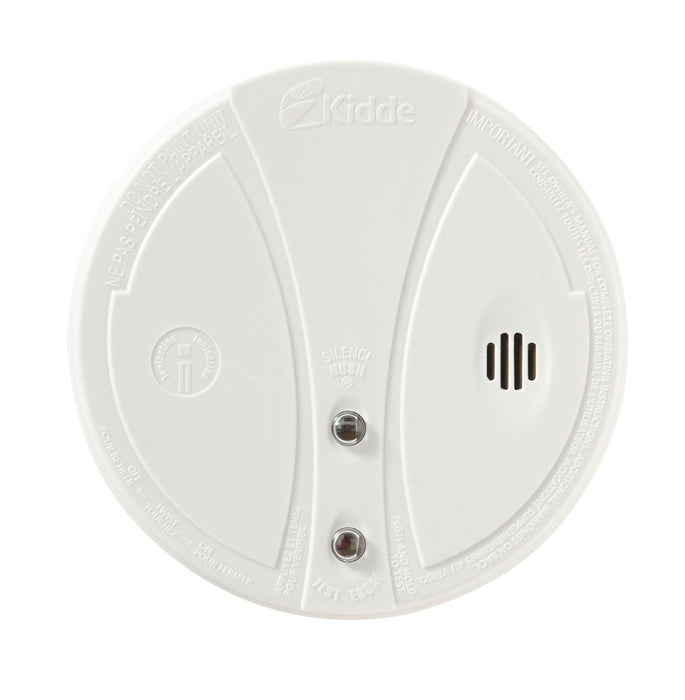 Kidde smoke alarm advanced technology solutions protect you, your loved ones and your home against the effects of fire and it's related hazards. This device is a single station alarm that operates  with one 9V battery, providing continuous protection against smoke and fire hazards during power outages. SKU: KID0916KCA UPC: 047871403752